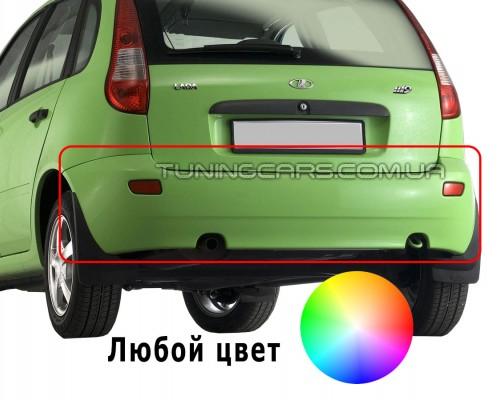 Бампер задний для ВАЗ LADA Kalina (ВАЗ-1119) Оригинал (окрашенный)