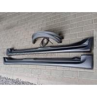 Накладки на пороги с арками для ВАЗ 2110-2111-2112 Катран  (пороги +арки с резинкой)
