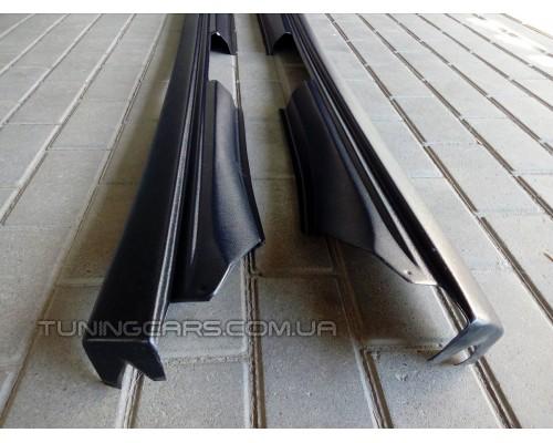Накладки на пороги для ВАЗ 2110-11-12 (заводские старого образца)