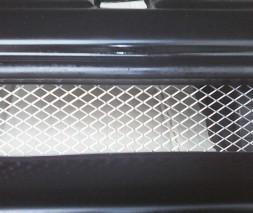 Облицовка (маска) радиатора с железной сеткой для ВАЗ: 2110, 2111, 2112 Galant Россия