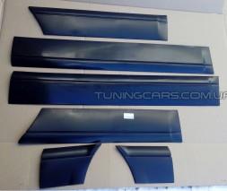 Молдинг двери для ВАЗ 2114-15-09-099 комплект (широкий заводской)