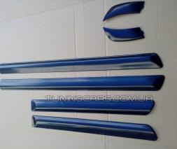 Молдинг двери узкий заводской для ВАЗ 2114-15-09-099 комплект