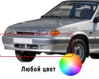 Бампер передний для ВАЗ 2113-14-15 с ПТФ оригинал (окрашенный)
