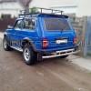 Защита заднего бампера для Lada Niva 2121 (1985+) LDNV.85.B1-03 d60мм x 1.6