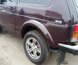 Расширители колесных арок ВАЗ-2121 Нива (узкие ABS)