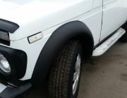 """Расширители колесных арок ВАЗ-2121 """"Нива"""" (широкие ABS)"""