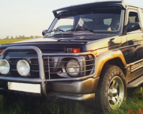 Бампер передний ВАЗ-2121 Нива