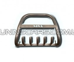 Передняя защита кенгурятник Lada Niva 2121 (85+) LDNV.85.F2-06