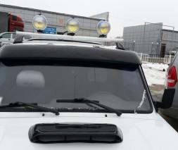 Козырек лобового стекла ВАЗ-2121 Нива