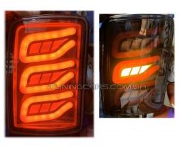 Фонари задние для ВАЗ 21213-21214 Нива, пара (Стопы лэд)