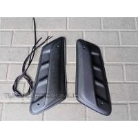 Воздухозаборник для ВАЗ 2121 Нива (пара с резинкой)