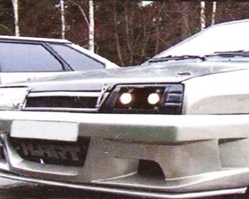 Бампер передний ВАЗ: 2108, 2109, 21099 ATT