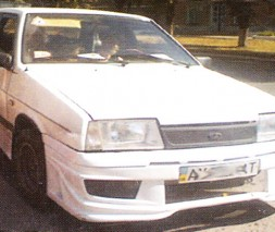 Бампер передний ВАЗ: 2108, 2109, 21099 Juzzy