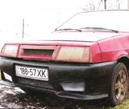 Бампер передний ВАЗ: 2108, 2109, 21099 Джедай 2