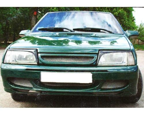 Бампер передний ВАЗ: 2108, 2109, 21099 Eleron