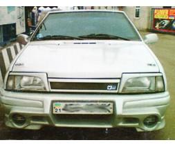 Бампер передний ВАЗ: 2108, 2109, 21099 Euronova 2