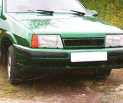 Бампер передний ВАЗ: 2108, 2109, 21099 Nova