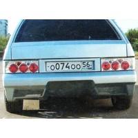 Бампер задний ВАЗ: 2108, 2109, 2113, 2114 Lukoil Racing