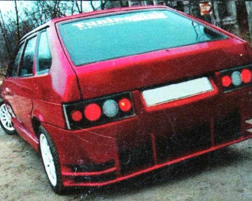 Бампер задний ВАЗ: 2108, 2109 Evolution 2