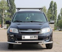 Кенгурятник ВАЗ-2190 (Лада Гранта) ST009
