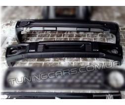 Комплект Магнум передний и задний бампер + швеллера для ВАЗ 2121 Нива/Urban