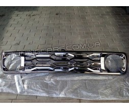 Решетка радиатора Нива Урбан хром премиум завод