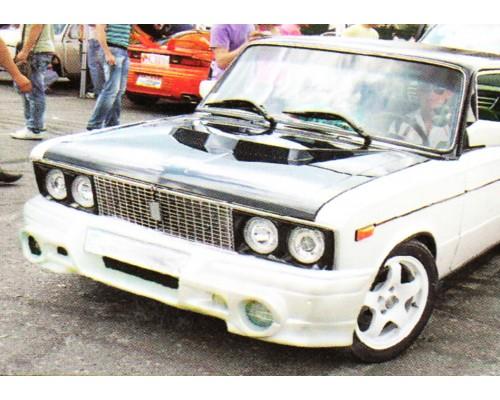 Бампер передний ВАЗ: 2101, 2102, 2103, 2106, 2105, 2107 Euronova