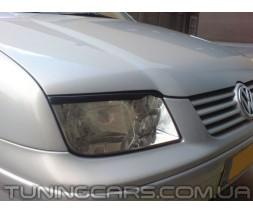 Накладки на фары (реснички) Volkswagen Bora