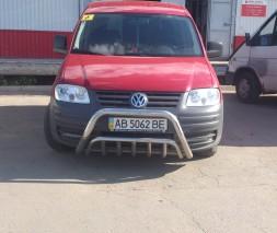 Кенгурятник Volkswagen Caddy WT002 (Invite)