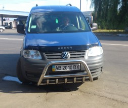 Кенгурятник Volkswagen Caddy WT003 (Inform)
