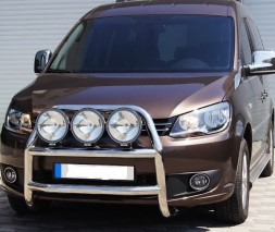 Кенгурятник Volkswagen Caddy WT018 (Adolf)