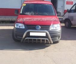 Передняя защита кенгурятник Volkswagen Caddy Type 2k (04-10) VWCD.04.F1-02