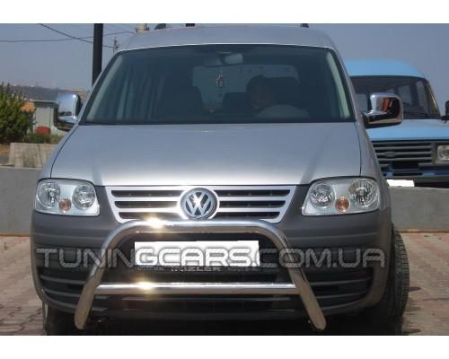 Защита переднего бампера для Volkswagen Caddy Type 2k (2004-2010) VWCD.04.F1-11 d60мм x 1.6