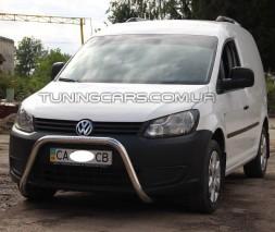 Защита переднего бампера для Volkswagen Caddy Type 2k (2010-2015) VWCD.10.F1-23M d60мм x 1.6