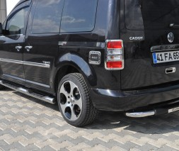 Пороги Volkswagen Caddy MAXI TT002 (Dragos)