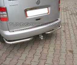 Задняя защита углы Volkswagen Caddy Type 2k (10-15) VWCD.10.B1-09