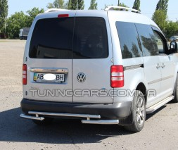 Задняя защита Volkswagen Caddy Type 2k (10-15) VWCD.10.B1-10М