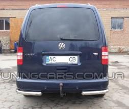 Задняя защита углы Volkswagen Caddy Type 2k (04-10) VWCD.04.B1-09