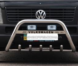 Передняя защита кенгурятник Volkswagen Crafter (2006+) MBSP.07.F1-21 LED