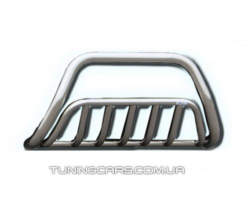 Защита переднего бампера для Volkswagen Crafter (2006+) MBSP.07.F1-02 d60мм x 1.6