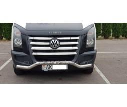 Защита переднего бампера для Volkswagen Crafter (13-16) MBSP.06.F3-04 d60мм x 1.6