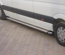Пороги Volkswagen Crafter [2006+] KB002 (Hunter)