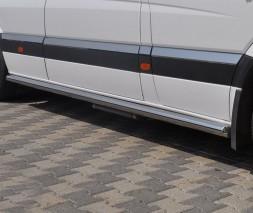 Пороги трубы для Volkswagen Crafter (2006+) VWCR.06.S1-01S d60мм x 1.6