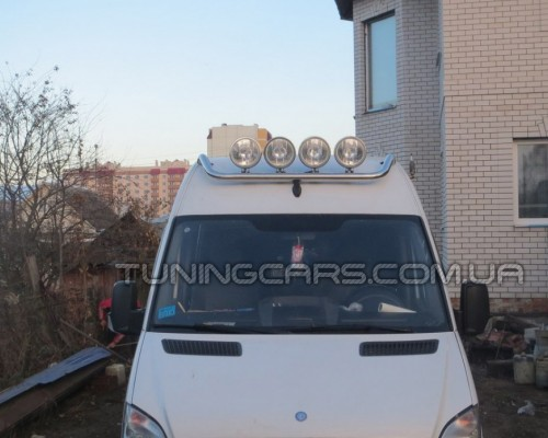 Люстра на крышу (4-ри фары) Volkswagen Crafter (2006+) MBSP.07.H1-01