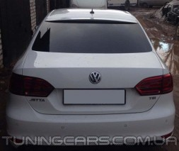 (ABS пластик) Спойлер на стекло Volkswagen Jetta VI, Джетта 6