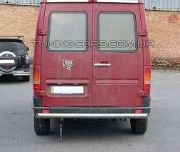 Защита заднего бампера для Volkswagen LT-35 (1996-2006) MBSP.95.B1-02 d60мм x 1.6
