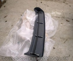 """Козырек лобового стекла """"Черный"""" (глянец) для Volkswagen LT35, Фольксваген ЛТ35"""