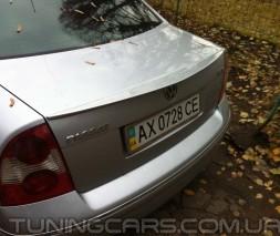Лип спойлер Volkswagen Passat B5