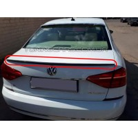 Лип спойлер Volkswagen Passat B7 (Американец)