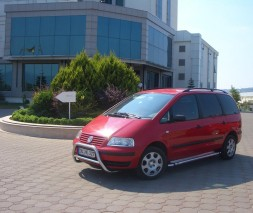 Пороги Volkswagen Sharan KB002 (Hunter)